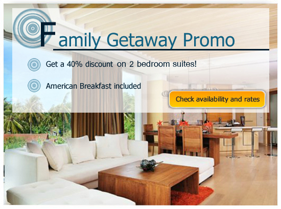 Family Getaway Promotion